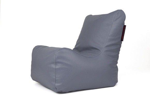 siedzisko ciemnoszare dunkelgrau m bel sitzsack f r drau en r ume terrasse. Black Bedroom Furniture Sets. Home Design Ideas