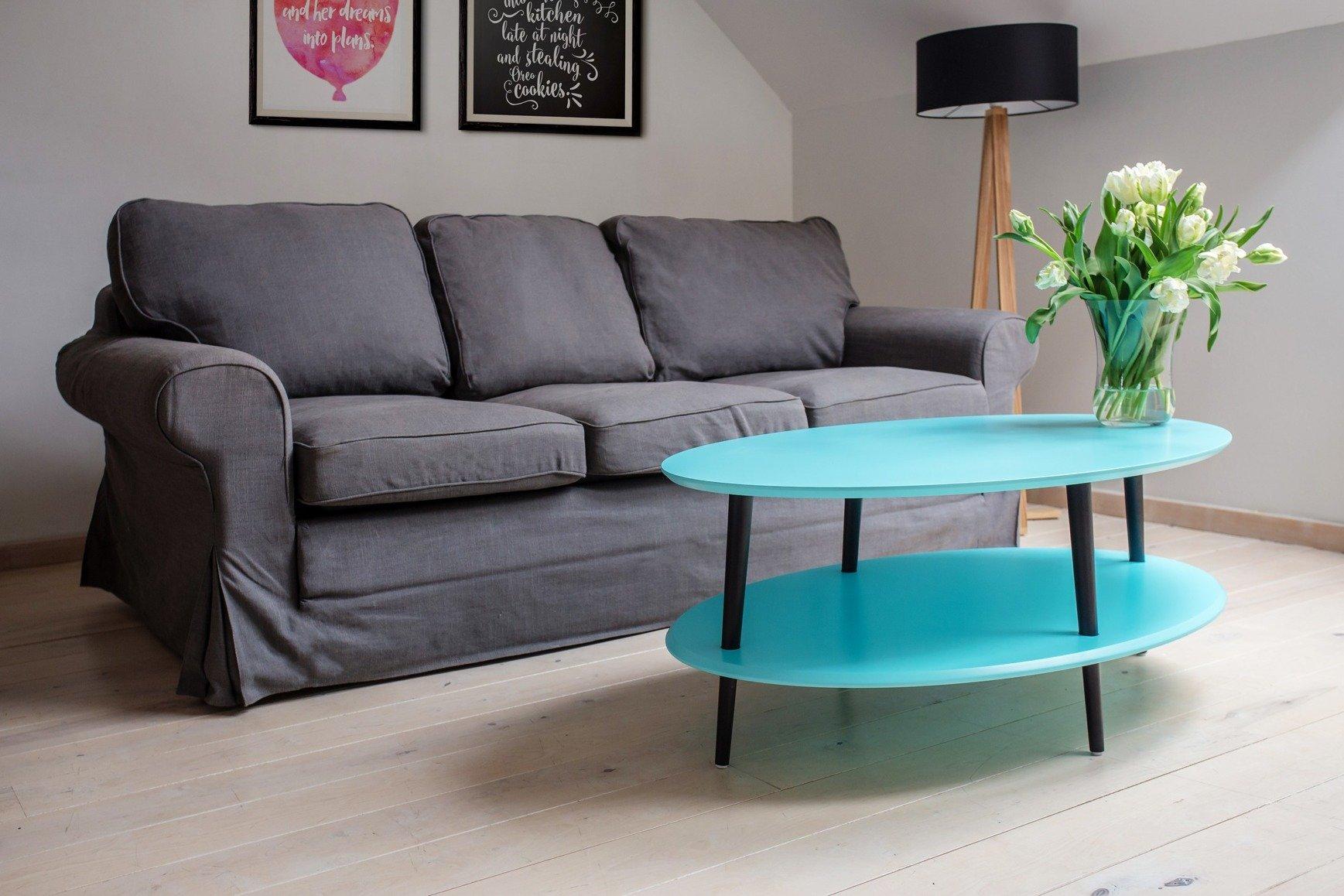 OVO low Coffee Table - yellow yellow \\ 25cm   Furniture \\ Coffee Tables