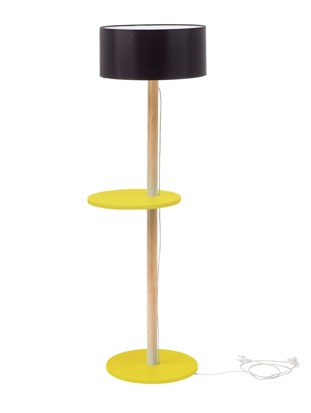 Ufo Floor Lamp Yellow Black Shade Ragaba Pl