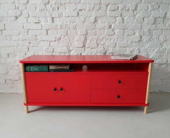 ASHME TV Sideboard - red