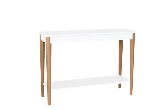 ASHME large Console Table - white