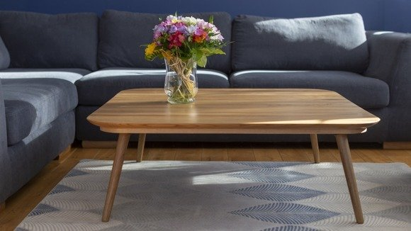 Contrast TETRA Coffee Table 110x110x31cm - Oak