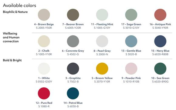 KORO high Coffee Table - light grey