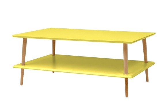 KORO low Coffee Table W 110 x D 70cm - Yellow