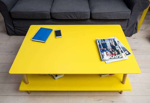 KORO low Coffee Table - dark grey