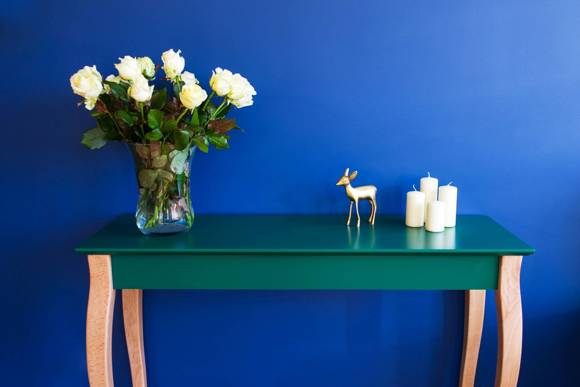 LILLO large Console Table - dusky pink