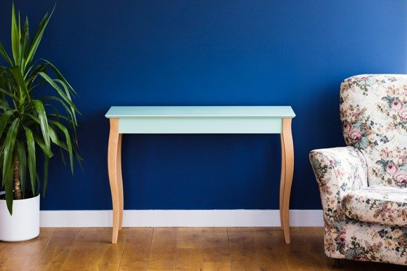 LILLO small Console Table - light turquoise