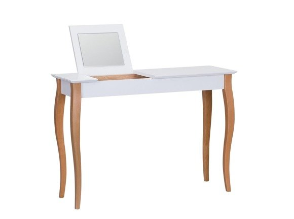 LILLO Dressing Table with Mirror - 105x35cm White