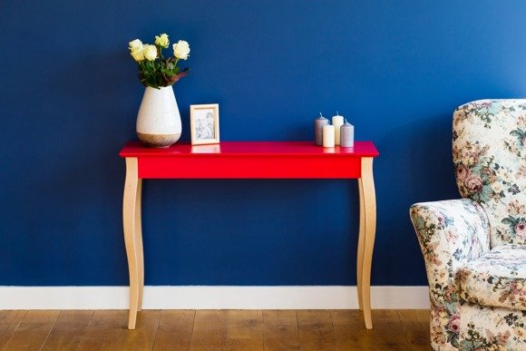 LILLO medium Console Table - yellow