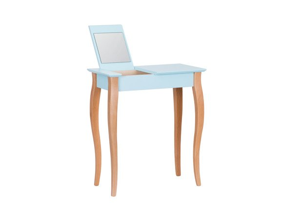 LILLO small Dressing Table with Mirror - light turquoise