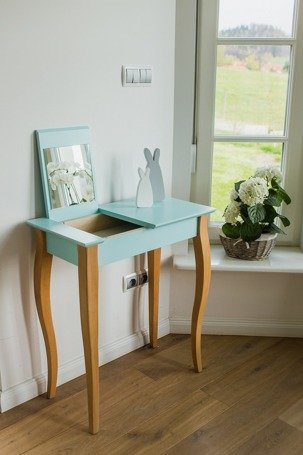 LILLO small Dressing Table with Mirror - mint