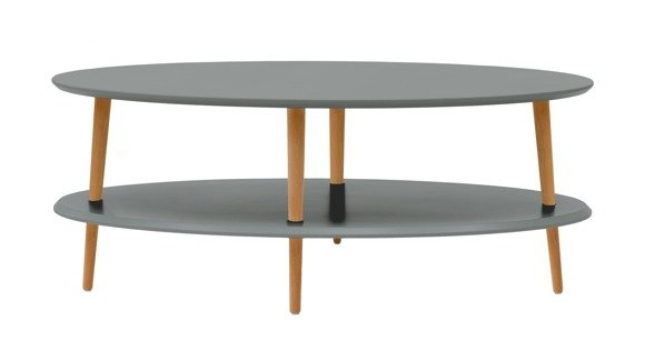 OVO low Coffee Table - dark grey