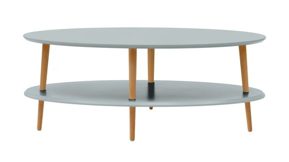 OVO low Coffee Table - light grey