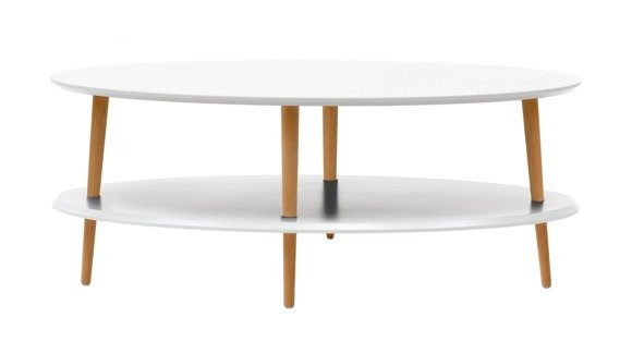OVO low Coffee Table - white