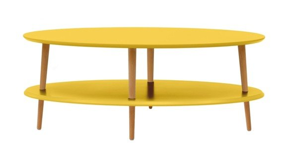 OVO low Coffee Table - yellow