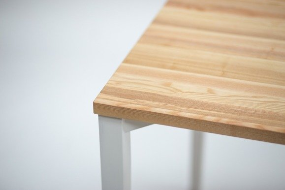 TRIVENTI rectangular Table - black square legs