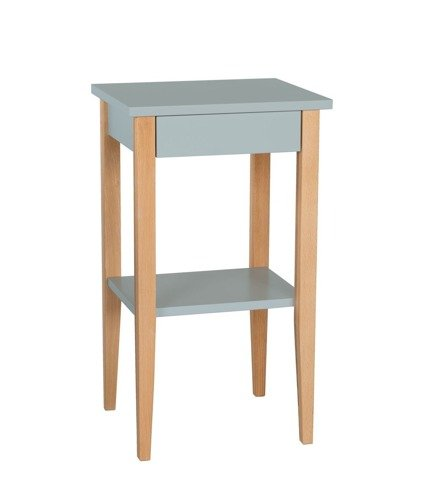 ENTLIK Side Table - light grey