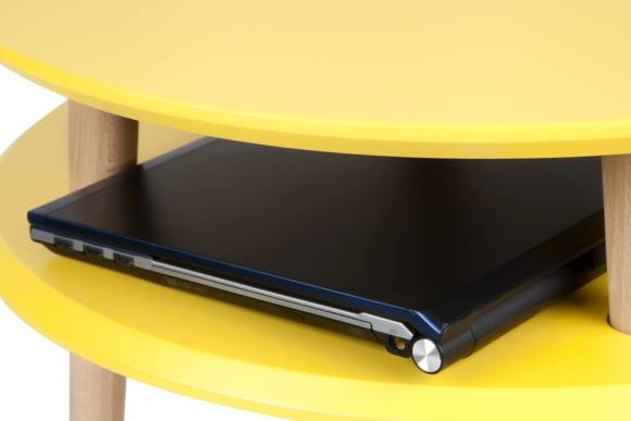 UFO Side Table diam. 70cm x H 45cm - Dark Grey