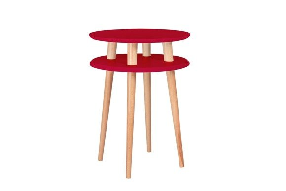 UFO high Coffee Table - red