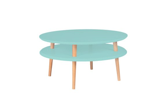UFO low Coffee Table - dusky pink