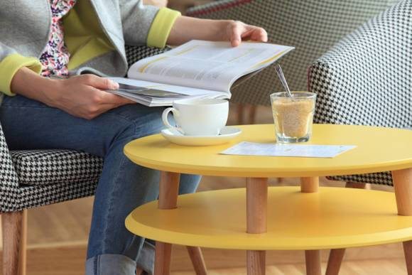UFO medium Coffee Table - graphite