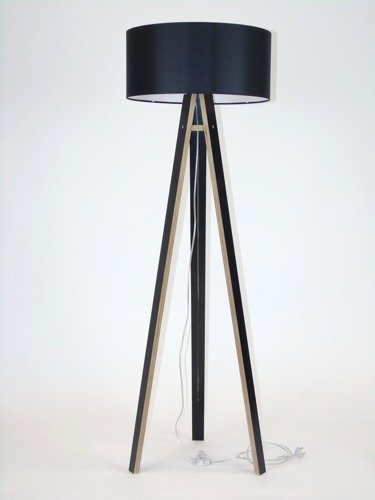 WANDA Floor Lamp - black/black lampshade