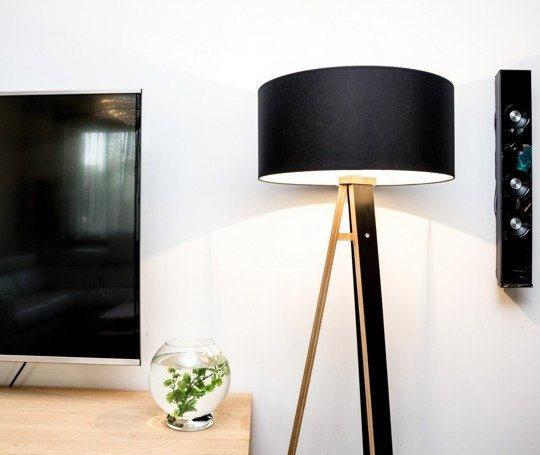WANDA Floor Lamp - yellow