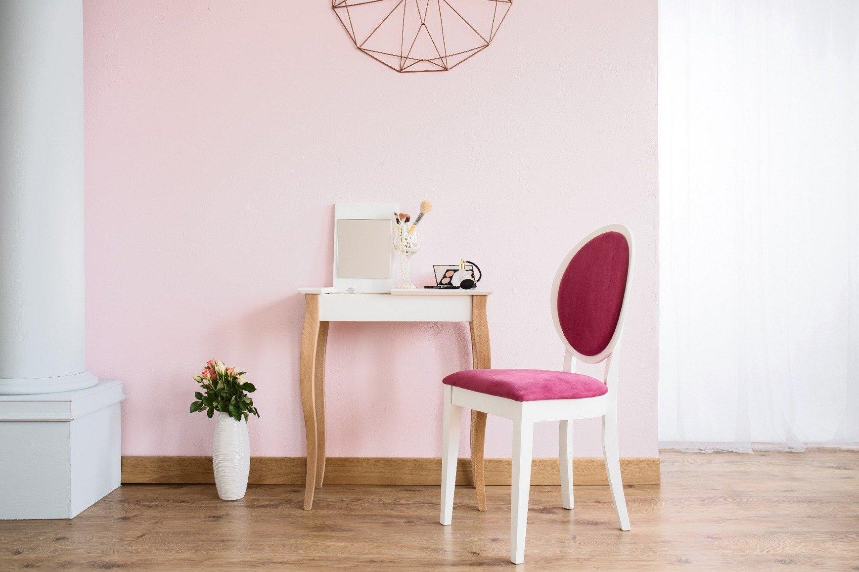lillo small schminktisch mit spiegel gelb gelb m bel konsolentisch m bel schminktisch. Black Bedroom Furniture Sets. Home Design Ideas