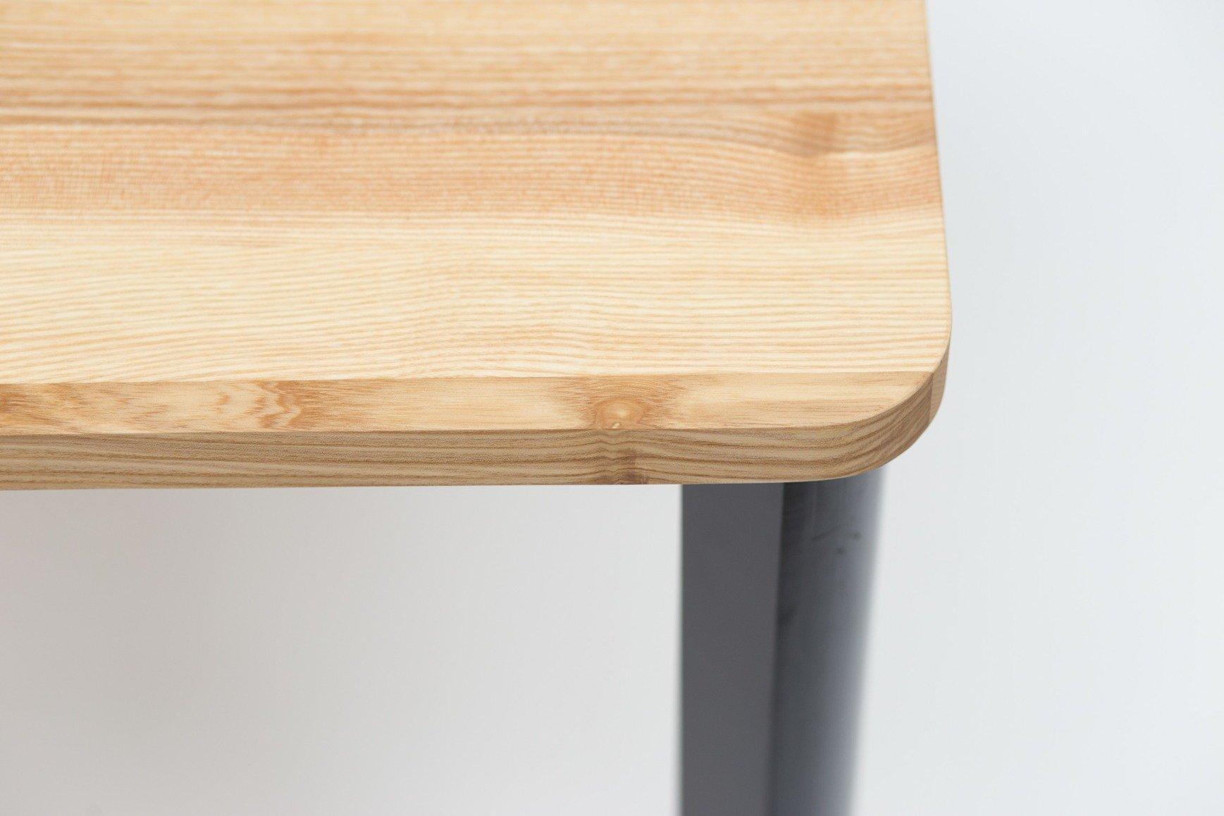 triventi rechteckig tisch wei rund beine ragaba. Black Bedroom Furniture Sets. Home Design Ideas