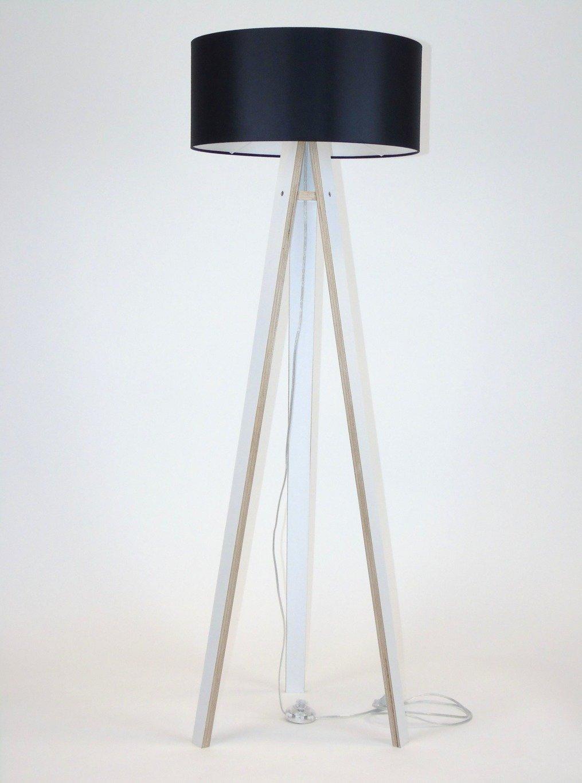 wanda wei stehlampe schwarz beleuchtung standleuchten. Black Bedroom Furniture Sets. Home Design Ideas